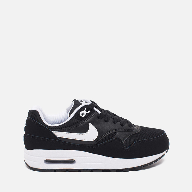 Nike Air Max 1 GS Teen Sneakers Black/White