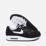 Nike Air Max 1 GS Teen Sneakers Black/White photo- 2