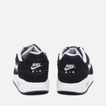 Nike Air Max 1 GS Teen Sneakers Black/White photo- 3