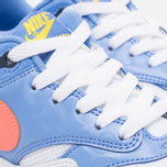 Подростковые кроссовки Nike Air Max 1 GS White/Bright Mango/Chalk/Blue фото- 5