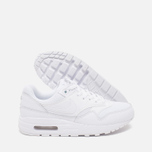 Nike Air Max 1 GS Teen Sneakers White/Metallic/Silver photo- 2