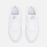 Подростковые кроссовки Nike Air Max 1 GS White/Metallic/Silver фото- 4