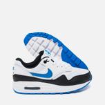 Подростковые кроссовки Nike Air Max 1 GS White/Photo Blue/Black фото- 2