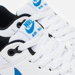 Подростковые кроссовки Nike Air Max 1 GS White/Photo Blue/Black фото- 5