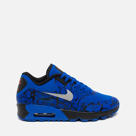 Nike Air Max 90 CR7 FB GS Racer Teen Sneakers Blue/Metallic Silver/Black