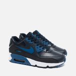 Nike Air Max 90 Leather Children's Sneakers Navy/White photo- 1