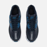 Nike Air Max 90 Leather Children's Sneakers Navy/White photo- 4