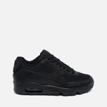 Nike Air Max 90 Mesh GS Teen Sneakers Black photo- 0