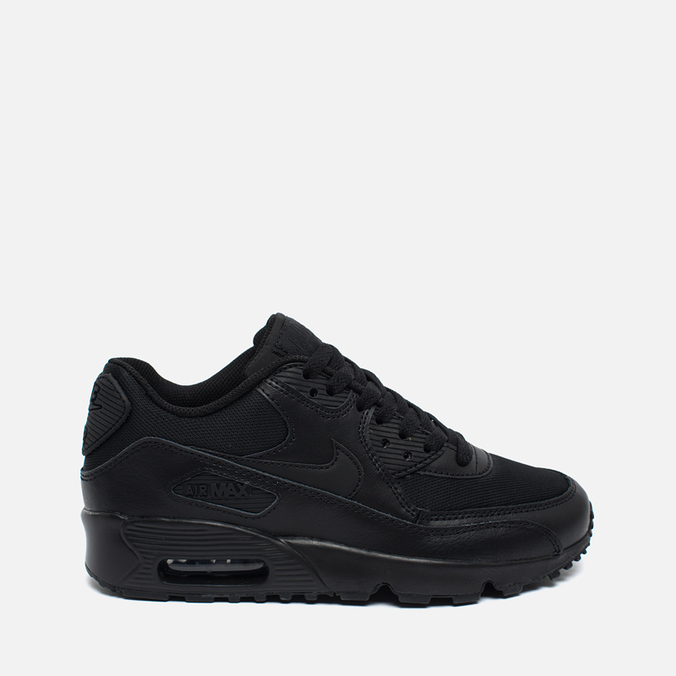 Nike Air Max 90 Mesh GS Teen Sneakers Black