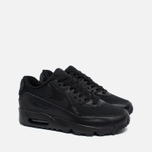 Nike Air Max 90 Mesh GS Teen Sneakers Black photo- 1