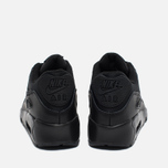 Nike Air Max 90 Mesh GS Teen Sneakers Black photo- 3