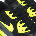 Подростковые кроссовки Nike Air Max 90 Mesh GS Grey/Black/Yellow/White фото- 5