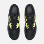 Подростковые кроссовки Nike Air Max 90 Mesh GS Grey/Black/Yellow/White фото- 4