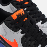 Подростковые кроссовки Nike Air Max 90 Mesh Wolf Grey/Dark Purple Dust/White фото- 5