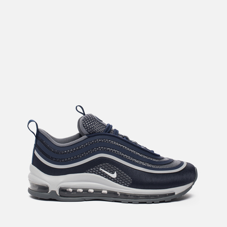 Подростковые кроссовки Nike Air Max 97 Ultra '17 GS Midnight Navy/White/Cool Grey