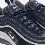 Подростковые кроссовки Nike Air Max 97 Ultra '17 GS Midnight Navy/White/Cool Grey фото- 3