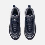 Подростковые кроссовки Nike Air Max 97 Ultra '17 GS Midnight Navy/White/Cool Grey фото- 4