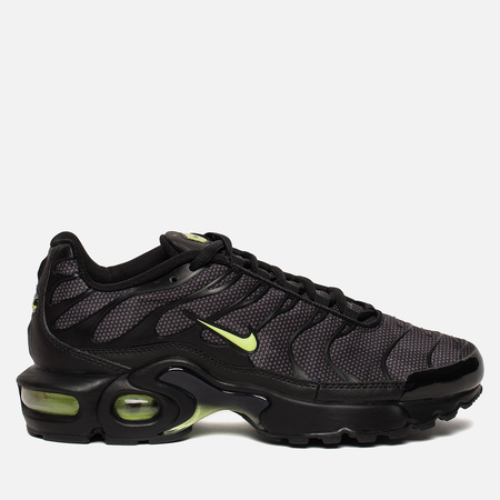 Подростковые кроссовки Nike Air Max Plus SE GS Black/Volt Glow/Wolf Grey