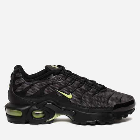 Подростковые кроссовки Nike Air Max Plus SE GS Black/Volt Glow/Wolf Grey