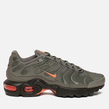 Подростковые кроссовки Nike Air Max Plus SE GS Dark Stucco/Total Orange/Olive Black