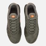 Подростковые кроссовки Nike Air Max Plus SE GS Dark Stucco/Total Orange/Olive Black фото- 4