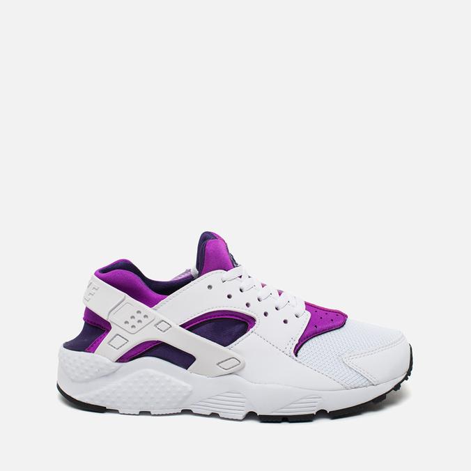 Подростковые кроссовки Nike Huarache Run GS White/Hyper Violet