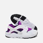 Подростковые кроссовки Nike Huarache Run GS White/Hyper Violet фото- 2