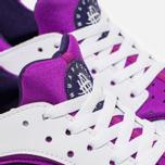 Подростковые кроссовки Nike Huarache Run GS White/Hyper Violet фото- 5
