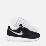 Подростковые кроссовки Nike Roshe One GS Black/Metallic Silver/White фото- 2