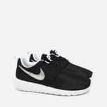 Подростковые кроссовки Nike Roshe One GS Black/Metallic Silver/White фото- 1