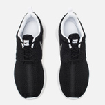 Подростковые кроссовки Nike Roshe One GS Black/Metallic Silver/White фото- 4