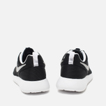Подростковые кроссовки Nike Roshe One GS Black/Metallic Silver/White фото- 3