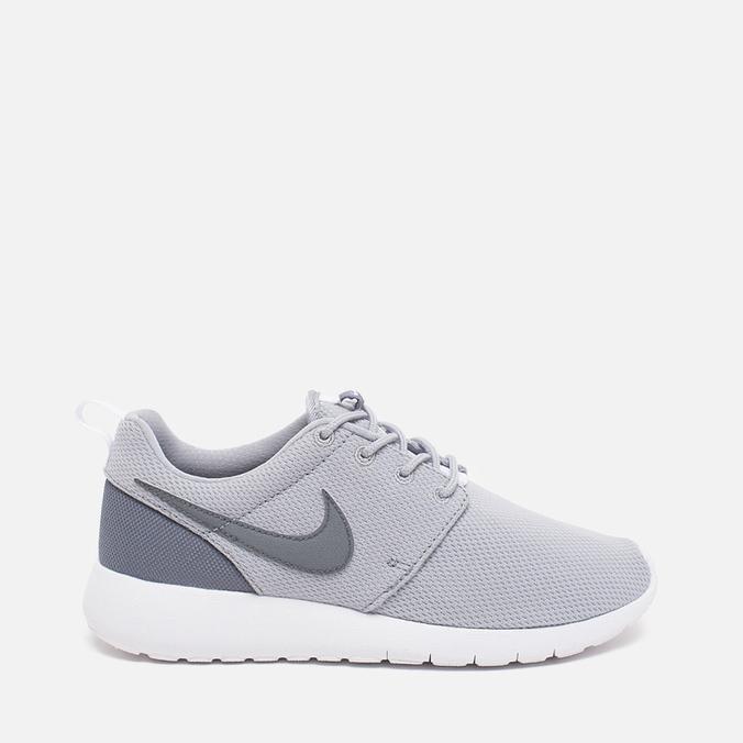 Подростковые кроссовки Nike Roshe One GS Grey/White