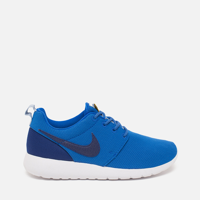 Подростковые кроссовки Nike Roshe One GS Hyper Cobalt/Deep Royal Blue