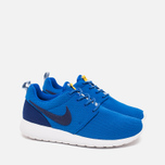 Подростковые кроссовки Nike Roshe One GS Hyper Cobalt/Deep Royal Blue фото- 1