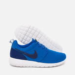 Подростковые кроссовки Nike Roshe One GS Hyper Cobalt/Deep Royal Blue фото- 2