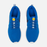 Подростковые кроссовки Nike Roshe One GS Hyper Cobalt/Deep Royal Blue фото- 4