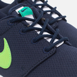 Подростковые кроссовки Nike Roshe One GS Obsidian/White/Voltage Green фото- 5