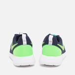 Подростковые кроссовки Nike Roshe One GS Obsidian/White/Voltage Green фото- 3