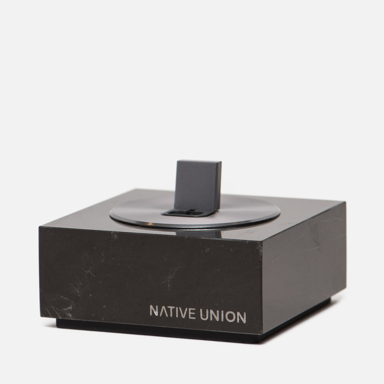 Подставка Native Union Dock And Apple Lightning 1.2m Marble Black