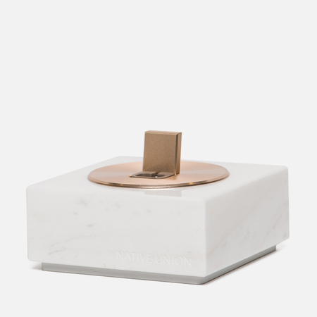 Подставка Native Union Dock And Apple Lightning 1.2m Marble White