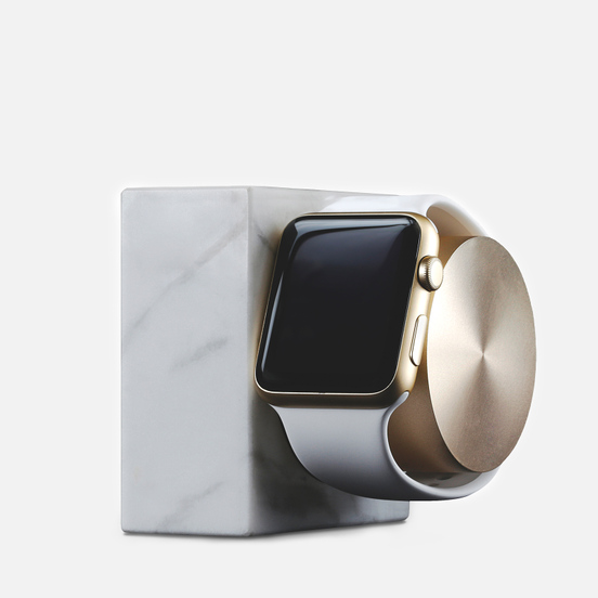 Подставка Native Union Dock Apple Watch Marble White