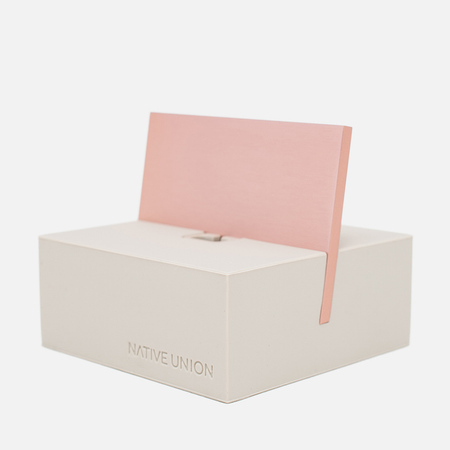 Подставка Native Union Dock Lightning Stone/Rose Gold