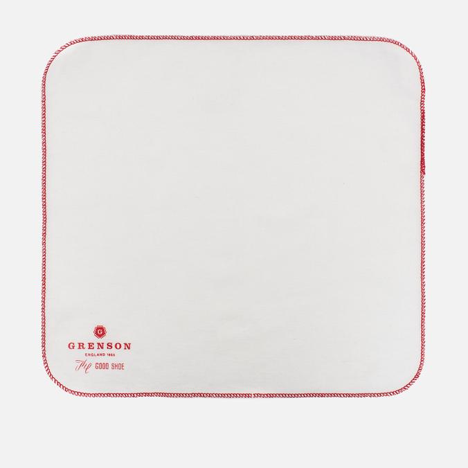 Полировочная ткань Grenson Logo White