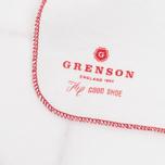 Полировочная ткань Grenson Logo White фото- 2