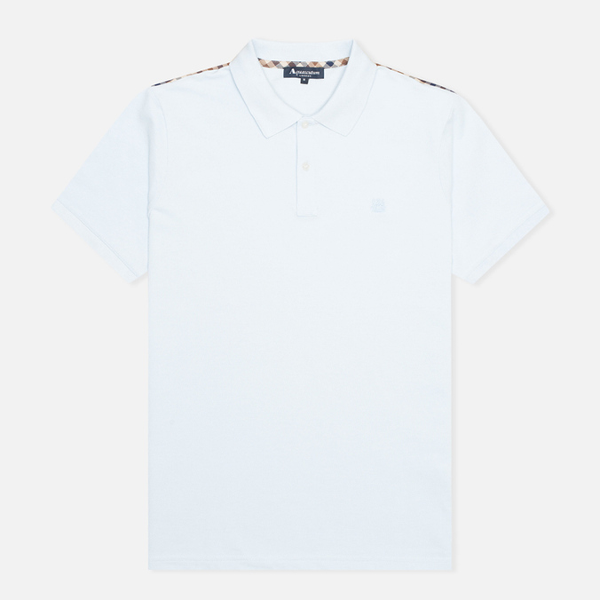 Мужское поло Aquascutum Hill Piquet Light Blue