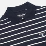 Мужское поло Barbour Stripe Sports Navy фото- 1
