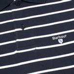 Мужское поло Barbour Stripe Sports Navy фото- 2