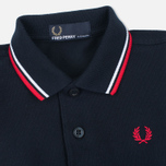 Fred Perry My First Childrens Polo Navy/White photo- 2