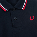 Fred Perry My First Childrens Polo Navy/White photo- 3